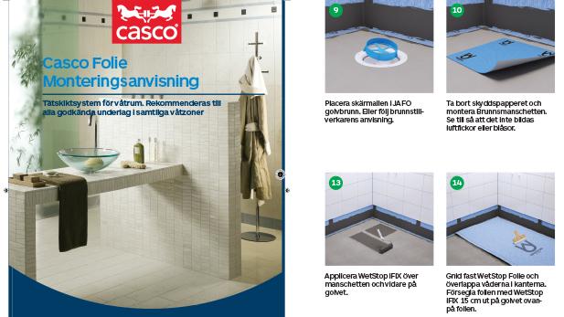 Casco våtrumssystem