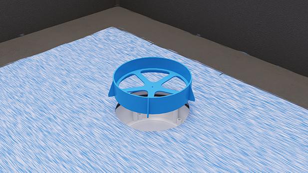 Tätmembran våtrum
